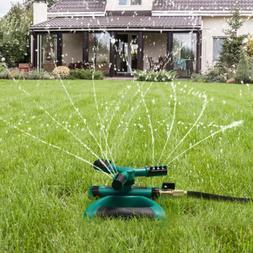 Garden Sprinkler Lawn Watering Rotating System Water Hose Sp