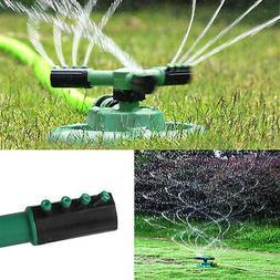 Garden Sprinkler Spray 360° Rotating Impulse Lawn Grass Wat