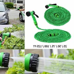 25-150FT Garden Car Pipe Hose Flexible Water Hose Compact Ex