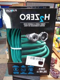 Flexon H2Zero 100ft Lightweight Fabric Garden Hose