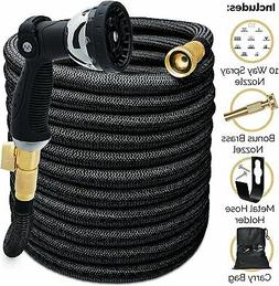 Morvat 100 Foot  Heavy Duty Expandable Garden Hose, Super St