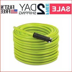 "Heavy-Duty Garden Hose 100-Foot 1/2"" Kink Resistant Water Ho"