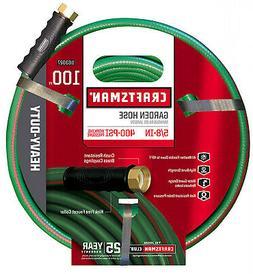 Craftsman Heavy Duty Garden Hose 5/8 Inch x 100 Feet Elimina