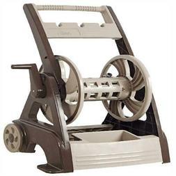 Heavy Duty Garden Hose Cart Reel 250ft Accessories NeverLeak
