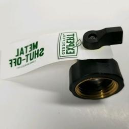 Heavy Duty Garden Hose Shut-Off Valve Metal Shutoff Water Co