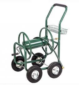 Heavy Duty Garden Water Hose Reel Cart Storage Outdoor Yard
