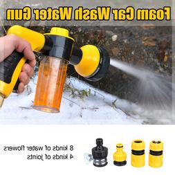 High Pressure Multifunction 8 in 1 Jet <font><b>Spray</b></f