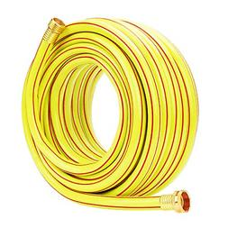 Homes Garden Hose Heavy Duty 5/8 inch Garden Hose 50 ft Yell