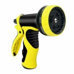 New Garden Hose Nozzle Water Garden Flexible Spray 10 Patter