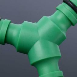 Hose Pipe Splitter  Connector Adapter Plastic Home Garden To