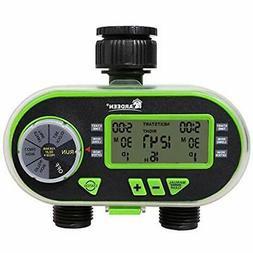 hose timers 2 outlet garden digital electronic