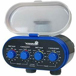 hose timers dual valve water sprinkler irrigation