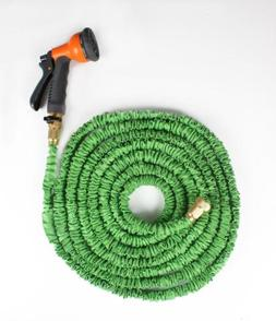 *HOT *Ohuhu Green Latex 50 FT Expanding Flexible Garden Wate