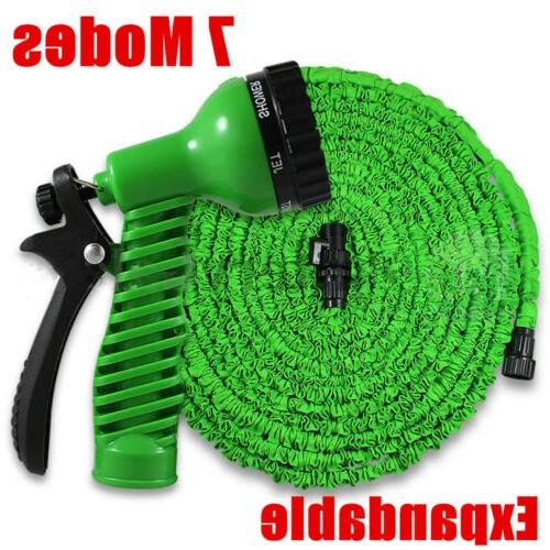 100 Feet 100FT Expandable Flexible with Nozzle Green