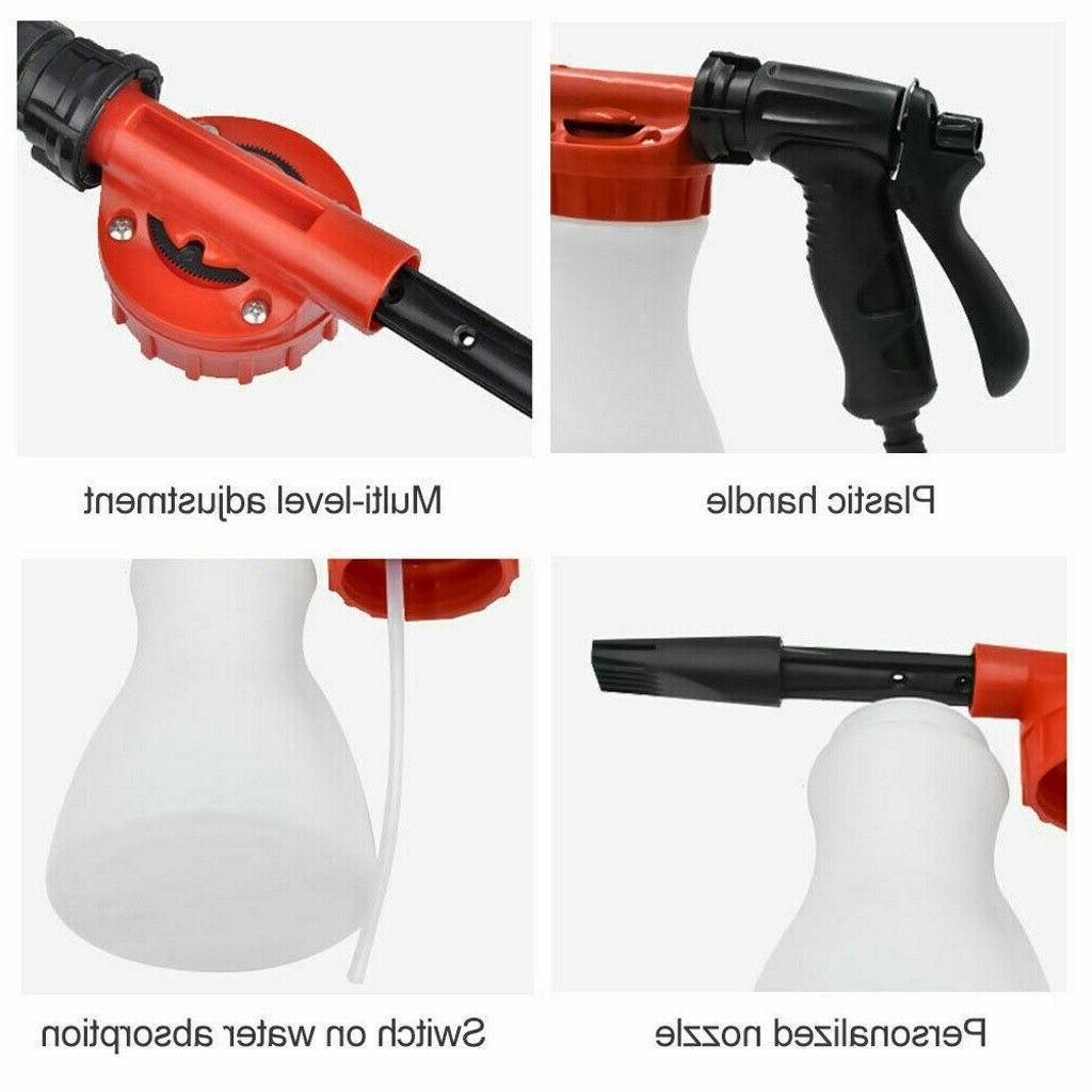 Car Foam Bottle Sprayer Hose Cleaning Washing