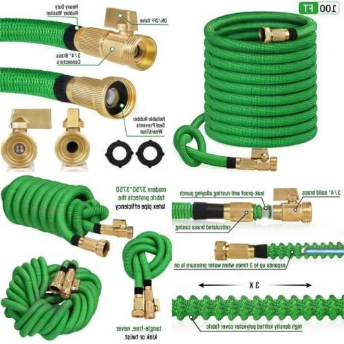 100ft garden hose all new 2019 expandable