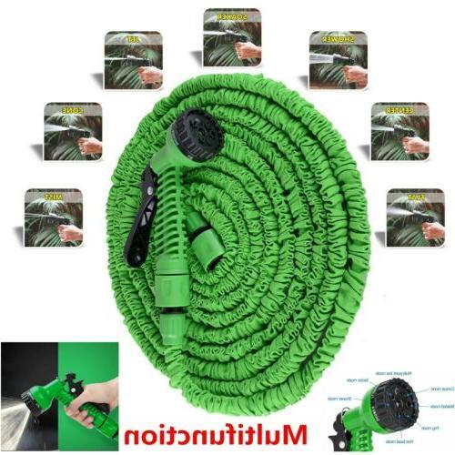 100 Flexible Garden with Spray Nozzle Green