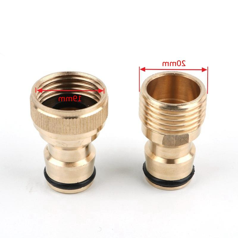1pc <font><b>Brass</b></font> Connector Quick <font><b>Hose</b></font> <font><b>Garden</b></font> Nozzle