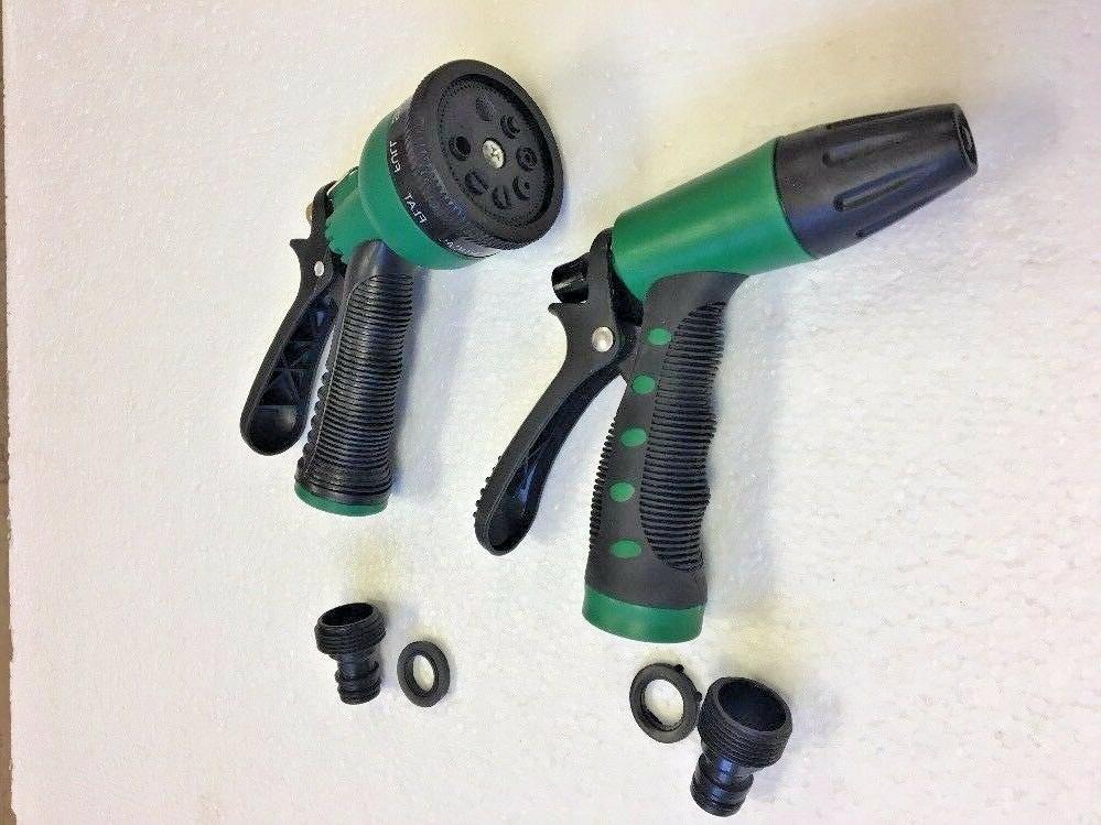 2 Garden Hose Nozzle Water Sprayer Nozzle 8 Spray connector