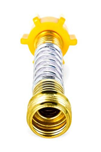 Camco Flexible Hose and Straining at Connections, Creates