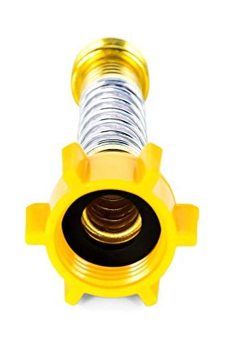 Camco Hose Hose Crimping at Faucets and Water Connections, Hose Flexibility