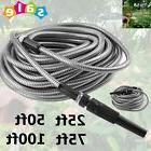25/50/75/100ft Flexible Stainless Steel Metal Garden Lightwe