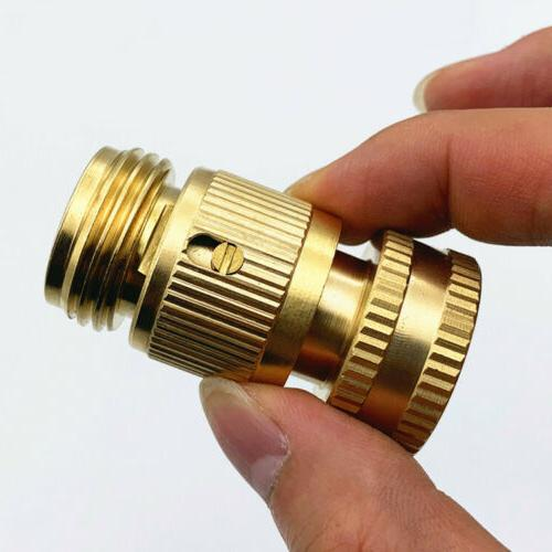3/4' Garden Connect Brass Female Male Connector Set