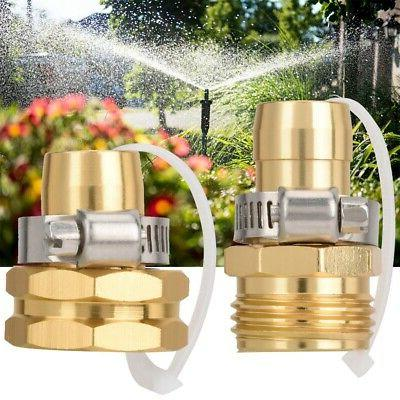 """3/4"""" Hose Adaptor Water Pipe Fitting Male Connector"""