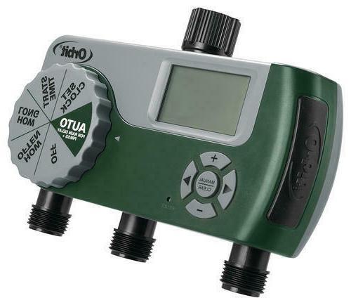3 Station Digital Hose Timer Water Sprinkler
