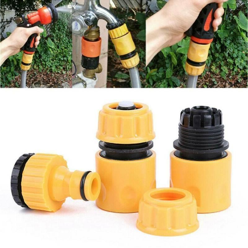 3pack garden hose connector set water accessories