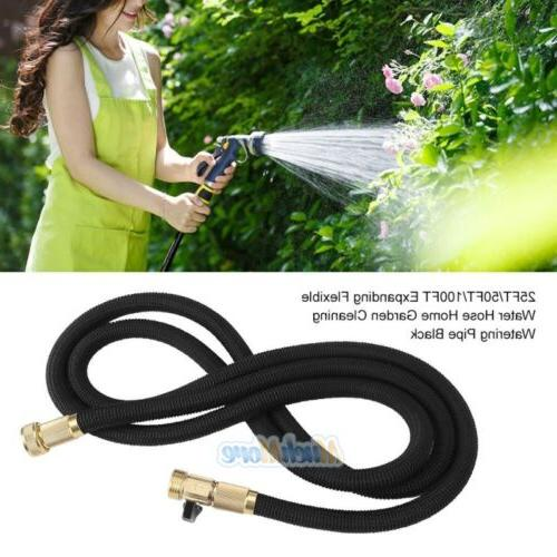 3X Stronger Deluxe Water Hose+Spray Nozzle