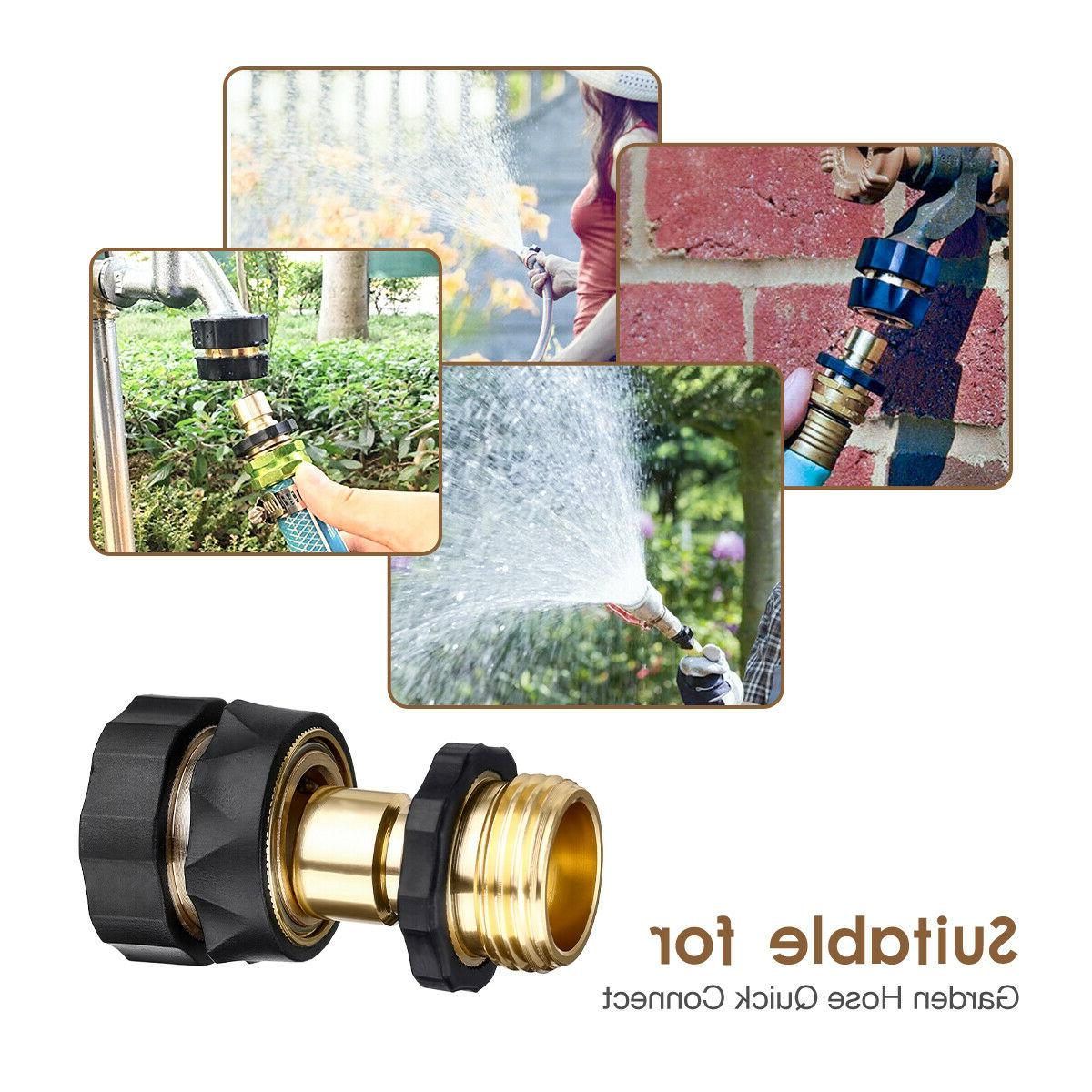 4 PAIRS Quick Connect Hose Tap Adapter Universal