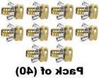 "ea Green Thumb C34FGT 3/4"" Brass Female Clincher Garden Hos"