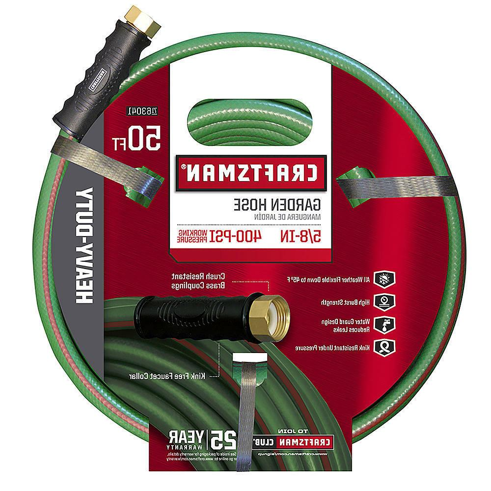 "NEW Craftsman CM-IFHD Heavy Duty 5/8"" x 50' Garden Hose"