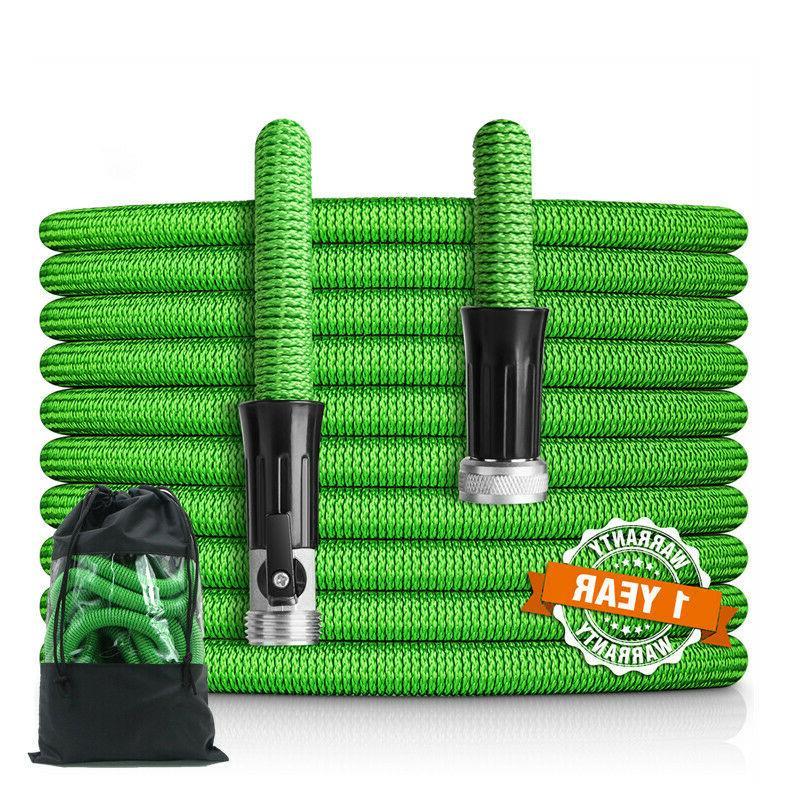 50 75 100ft garden hose lightweight expandable