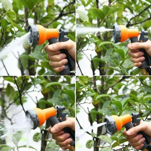 Ohuhu Feet Expandable Garden Hose with Sprayer and