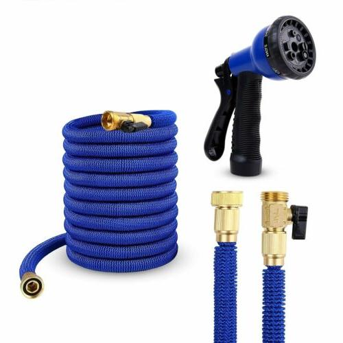 Deluxe FT Expandable Garden 8 Water Hose Spray Nozzle