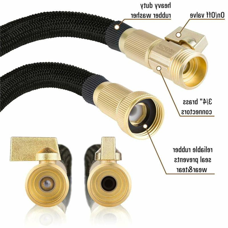 """Expandable 50ft with Core 3/4"""" Solid Brass"""
