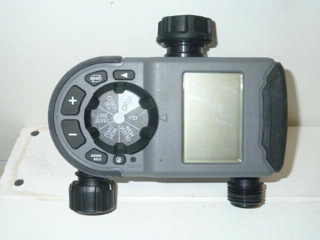 Orbit Timer Dial 2 Outlet Garden Syst