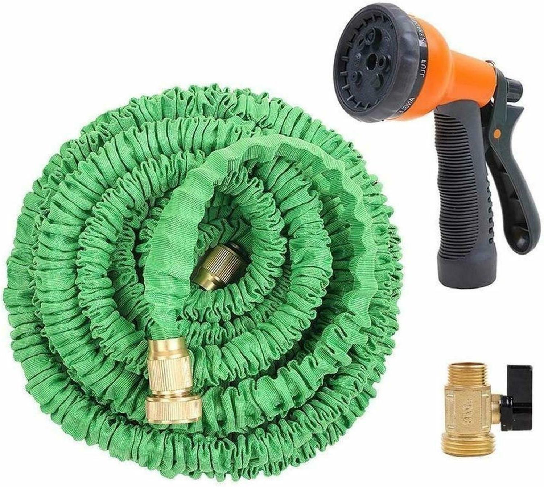 75 feet expandable garden hose with brass