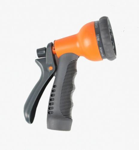 Ohuhu 75 ft Garden hose 8-pattern Spray Nozzle,