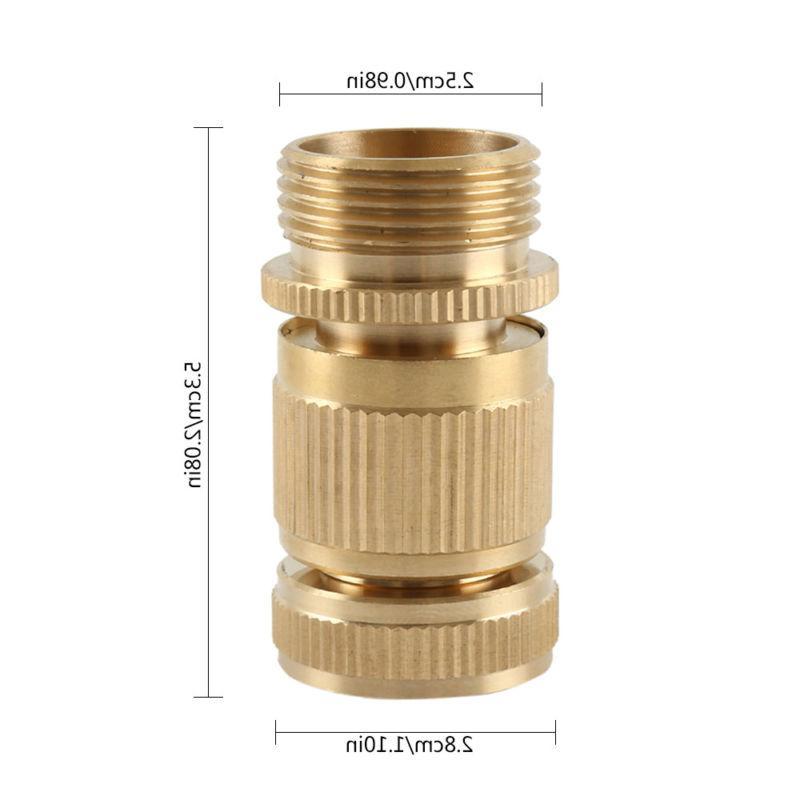 Garden Hose ¾ GHT Brass Easy Connect