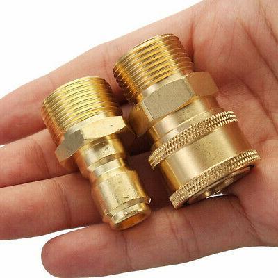 Garden Hose Outdoor Quick Connector Set High Pressure Access
