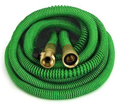 GrowGreen All New 2018 Garden Hose 50 Feet {Improved} Expand