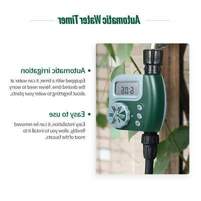 Water Garden 1-Outlet Irrigation Hose Timer Automatic