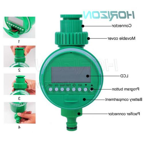 Automatic water garden/greenhouse hose equipment