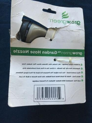 GrowGreen Best Garden Hose Nozzle High New