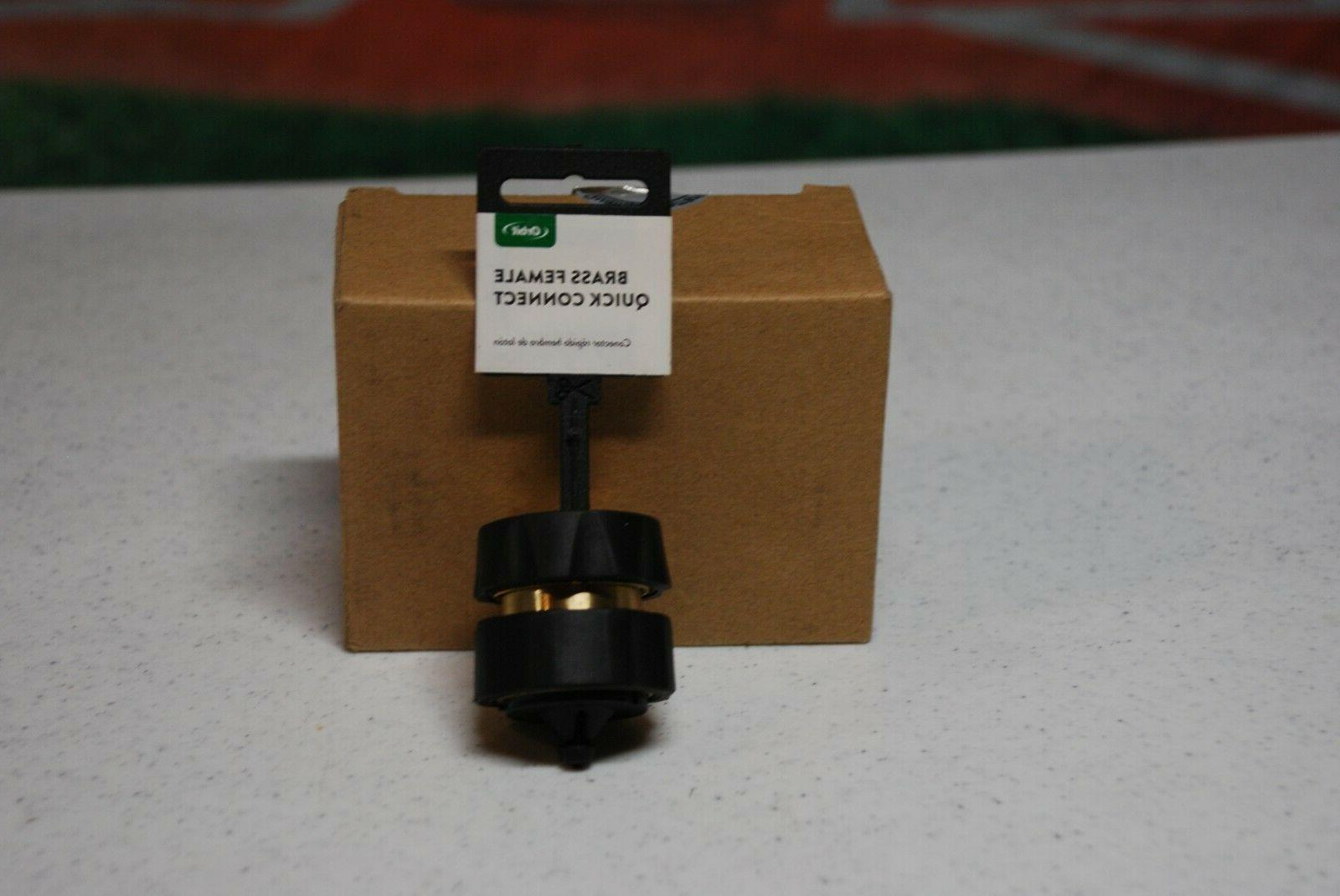 brass female garden hose quick connect fitting