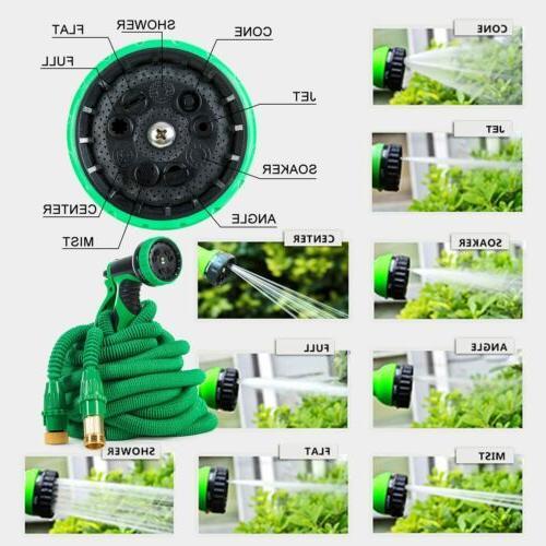Brass Flexible Garden Water Hose Sprayer Expandable