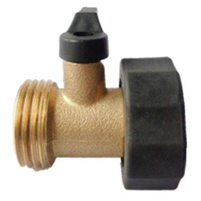 Garden Hose Connector Shut-Off Valve Water Swivel Single Bal